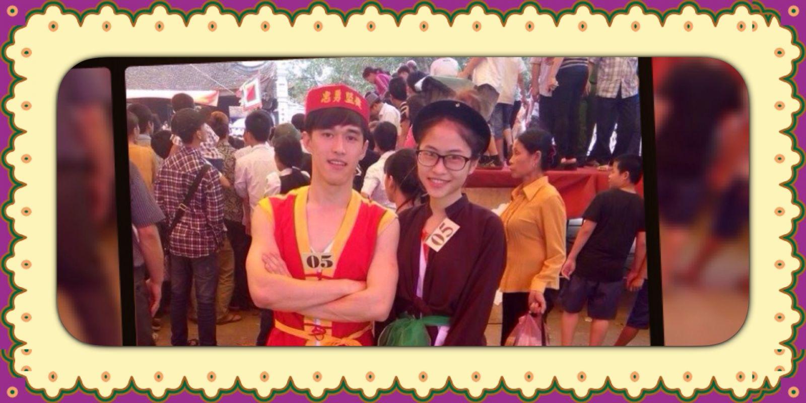 thành viên Minh Thu shopp tham gia hội thi gói bánh Phu Thê